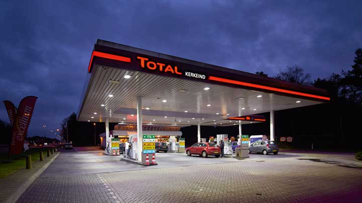 TOTAL Benelux –Petrol Station Lighting- Philips -2