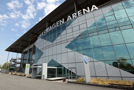 Philips LED pitch lighting for Volkswagen Arena in Germany