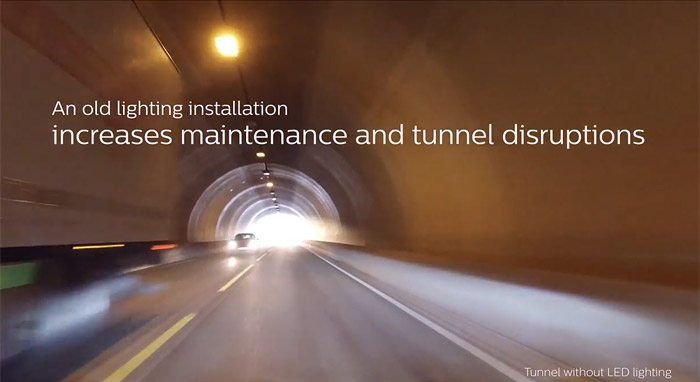 Philips TotalTunnel system for Nodic Tunnels