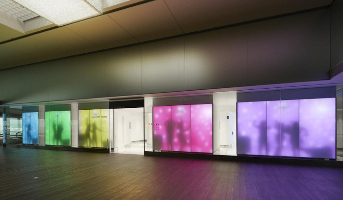 GALLERY TOTO: state-of-the-art toilets at Narita Int'l Airport