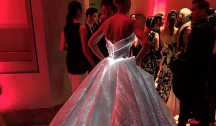 High tech and high fashion at the Met Gala