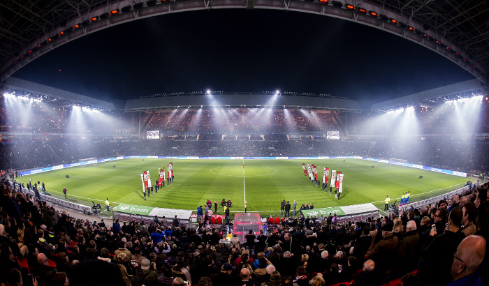 PSV is the first in the Dutch premiere league to kick off under all LEDs