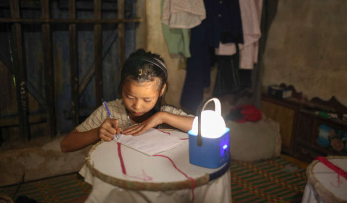 Solar LED lighting: the story behind the lamp