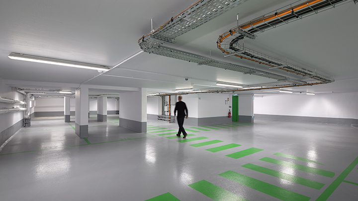 Philips Lighting's GreenParking: optimize car park lighting for pedestrians using presence detection and zonal dimming