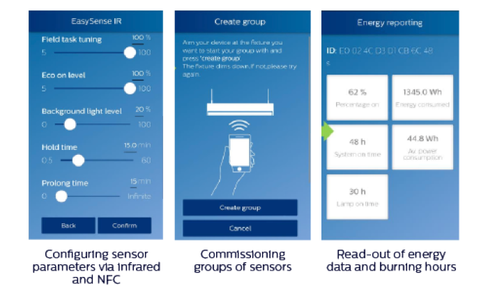field configuration with philips field apps - Connected lighting
