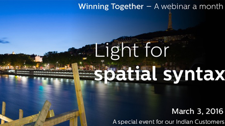 Light for spatial syntax