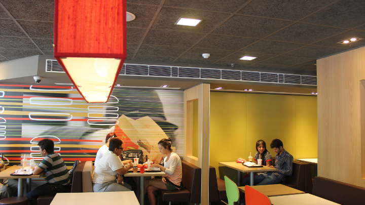See how energy saving LED lighting from Philips helped McDonalds India provide better guest experience
