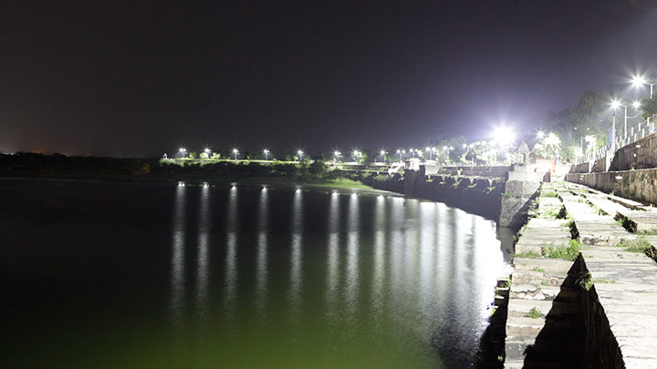 LED streetlights installed across areas around Rajsamand lake